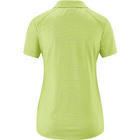 Maier Sports Pandy Polo Mujer, lightgreen allover